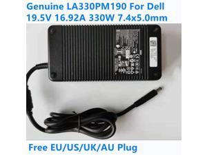 Genuine LA330PM190 19.5V 16.92A 330W DA330PM190 AC Adapter For Dell ALIENWARE R1 R3 R5 M17X M18X X51 ADP-330AB B D Power Charger