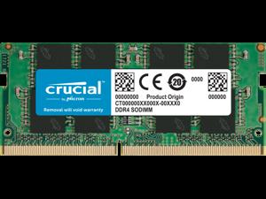 Crucial 32GB DDR4-2666 SODIMM CT32G4SFD8266
