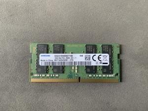 SAMSUNG  16GB DDR4 SO-DIMM 2Rx8 DDR4 2666MHz (PC4 21300) 1.2V - CL11 - 260pin - M471A2K43CB1 - CTD - Laptop Ram Memory