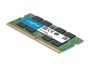 CT16G4SFD832A  Crucial 16GB DDR4-3200(PC4-25600) SODIMM •3200MT/s • 1.2V • CL-22 • Dual Ranked •x8 based •Unbuffered •NON-ECC •260PIN Notebook Memory