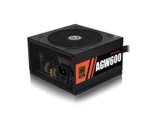 ARESGAME Power Supply 600W 80+ Bronze Certified PSU (AGW600)