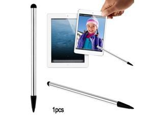 Capacitive Touch Screen Stylus Pen for Tablet iPad Cell Phone Samsung PC (Silver)