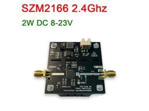 DP-iot SZM2166 2.4Ghz RF power amplifier 2400MHz 2W 33dBm 8-23V DC for wifi Bluetooth