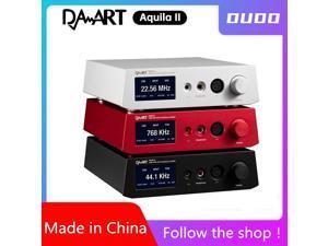 DP-iot Yulong Aquila II DAART DAC Amplifier ESS9038PRO Balanced Decoding Preamp Headphone amplifier All-in-one PCM 768 KHz DSD 512