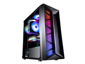 LOONGTR - Gaming Desktop - Ryzen 5 3600 6 Core up to 4.2GHz- GeForce RTX2060  6GB - 16GB DDR4 3000MHz - 500GB SSD NVMe M.2 - 500W Power supply - Gaming PC