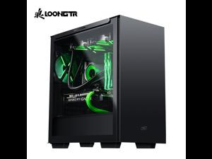 LOONGTR Gaming PC - Ryzen 7 3700X - GeForce RTX 2060 6GB - 16GB DDR4 3200MHz - 500GB M.2 NVMe SSD - ARGB Ring Fans