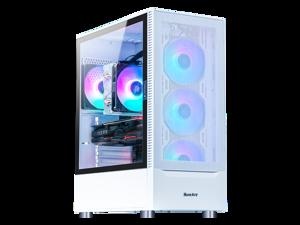 LOONGTR-Gaming PC - Ryzen 7 3700X - GeForce GTX 1660 SUPER 6GB - 16GB DDR4 3200MHz - 500GB M.2 NVMe SSD - ARGB Ring Fans-550W Power Supply