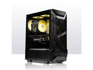 LOONGTR - Gaming Desktop - Ryzen 5 3600 6 Core up to 4.2GHz-AMD RADEON RX 6700 XT- 16GB DDR4 3000MHz - 500GB SSD NVMe M.2 - 550W Power supply - Gaming PC