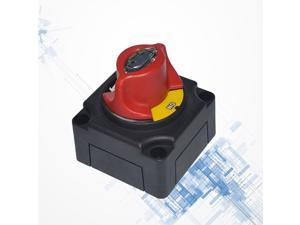 12V 24V Power Cut OFF Switch Battery Disconnect Isolator Button for Car Boat Van Truck RV Motorcycle