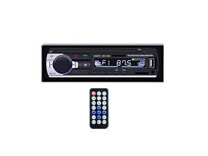 Universal 12V  Car Stereo Audio Receiver Decoder Music Player Car FM Radio Aux Input USB SD MP3 Player LCD Display Hands Free Call with Remote Control