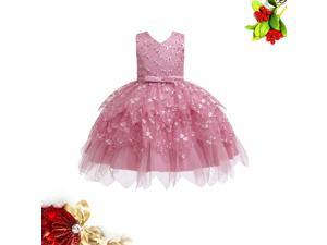 Girl Asymmetrical Mesh Skirt Photography Tutu Skirt Apparel Costume Dress Outfits Children Clothes for 0-5 Years Olds - 80cm (White)