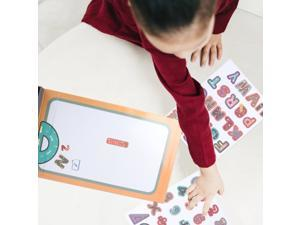 1 Set Kids Educational Puzzle Toy Cartoon Magnetic Puzzle (Letters Style)