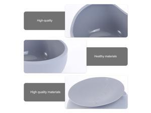 1 Set Baby Suction Bowl Silicone Bowl Suction Cup Tableware Baby Feeding Bowl