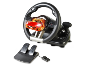 Serafim R1+ Racing Wheel - Gaming Steering Wheel with Responsive Pedal - Compatible with Xbox ONE  PS4  PS3  Switch  PC  iOS  Android - Xbox One Steering Wheel / PS4 Steering Wheel / PC Gaming Wheel
