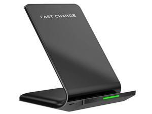 10W Max Fast Wireless Charger, YLF Qi-Certified, Fast Charging iPhone SE, 11, 11 Pro, 11 Pro Max, Xs Max, XR, XS, X, Galaxy S20 S10 S9 S8, Note10/9/8 & HUAWEI P40/OnePlus 8Pro, wireless charge stand
