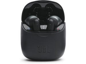 JBL Tune 225TWS True Wireless Earbud Headphones - JBL Pure Bass Sound, Bluetooth, 25H Battery, Dual Connect, Native Voice Assistant, Android and iOS Compatible (Black)