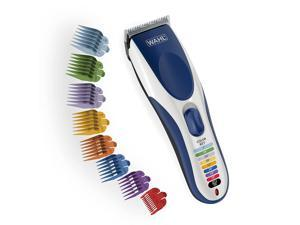 Wahl Color Pro Cordless Rechargeable Hair Clipper & Trimmer – Easy Color-Coded Guide Combs - for Men, Women & Children – Model 9649