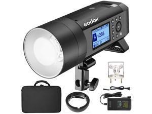GODOX AD400PRO 400Ws GN72 TTL 1/8000s HSS 2.4G X System All-in-One Outdoor Flash Speedlite Strobe Light,Battery-Powered Monolight,390 Full Power Pops,30W LED Modeling Lamp,0.01-1s Recycle Time