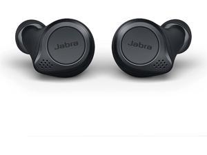 Jabra Elite Active 75t True Wireless Earbuds with Wireless Charging Enabled Case, Gray