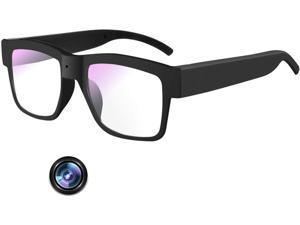 Camera Glasses 1080P,Video Glasses Full HD Recording Camera for Indoor & Outdoor,Record The Scene or Dash Cam(Include 32G Micro Sd Card)