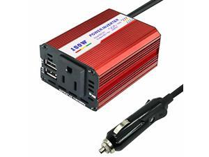 1 Set Multifunction Practical Portable Car Power Inverter Car Converter Car Charge Transformer
