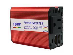 1 Set Practical Portable Car Charge Transformer Car Power Inverter Car Converter