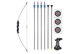 1 Set Safe Multipurpose Interesting Portable Complete Kids Archery Toys Archery Game Toys