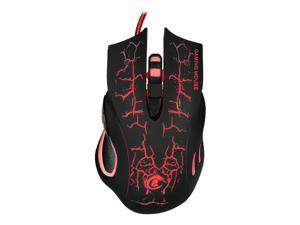 5500DPI 6-Button LED USB Optical Wired Gaming Mouse for Pro Gamer