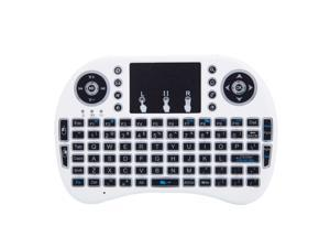 Mini Computer Keyboard i8 2.4G Wireless Keyboard W/Touchpad Portable Keyboard W/Remote Control Compatible with Laptop/PC/Tablets/Windows/Mac/TV/Xbox/PS3/Raspberry