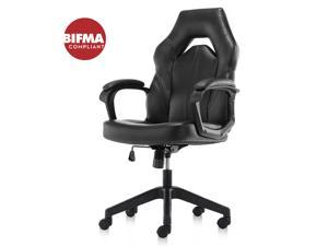 Gaming Chair Ergonomic Racing Game Chair Comfortable Computer Desk Chair for Home, Office, Gaming Room, Black