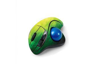 MightySkins Skin for Logitech M570 Wireless Trackball Mouse - Rasta Rainbow   Protective, Durable, and Unique Vinyl Decal wrap Cover   Easy to Apply, Remove, and Change Styles   Made in The USA