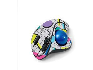MightySkins Skin for Logitech M570 Wireless Trackball Mouse - Awesome 80s   Protective, Durable, and Unique Vinyl Decal wrap Cover   Easy to Apply, Remove, and Change Styles   Made in The USA