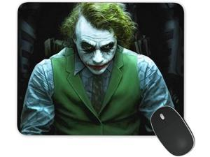 JNKPOAI The Joker Mouse Pad Customized Rubber Mouse Pad Gaming Mouse Mat (Joker)