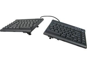 """Kinesis Freestyle2 Ergonomic Keyboard w/ V3 Lifters for PC (9"""" Separation)"""