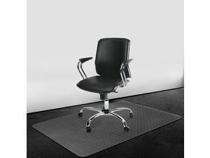 Carpet Chair Mat Non Breakable Polycarbonate,Transparent Thick and Sturdy Highly Premium Quality 36 X 48 Rectangle Floor Mats for Low and Medium Pile Carpets,Shipped Flat
