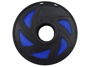 3D Printer Filament - 1KG(2.2lb) 1.75mm / 3 mm, Dimensional Accuracy PLA Multiple Color (Transparent Blue,1.75mm)