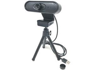 Webcam 1080P, Full HD PC Camera with Microphone for Video Calling, Conferencing, Recording, and Streaming on Desktop, Laptop, PC Computer, and More
