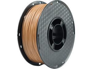 Wood PLA Filament 1.75mm 3D Printer Filament, Real Wood Filament,1kg Spool (Wood)
