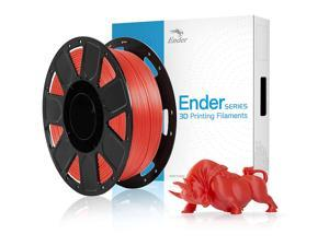 Creality ± 0.03 mm PLA Filament, Dimensional Accuracy 1.75 mm for Most FDM 3D Printer,1 KG (2.2 LBS) Spool- Filament Red