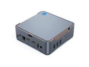 Mini PC,Intel Celeron J4125 Processor(up to 2.7GHz) Windows 10 Pro Mini Desktop Computer with 8GB DDR4/256GB ROM,Support Triple Display,Gigabit Ethernet,Dual Band Wi-Fi,Bluetooth 4.2,4K HD