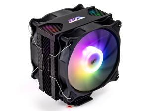 darkFlash Darkair Plus Addressable RGB CPU Air Cooler 4 Heatpipes Double 120MM 4Pin PWM Fan ARGB Tower CPU Air Cooler