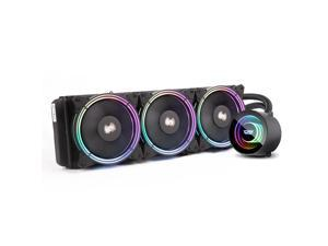darkFlash TR360 Black ARGB CPU Radiator Addressable RGB All-in-one AIO ARGB PWM Fans CPU Liquid Cooler System for Intel LGA 2066/2011V3/2011/115X and AMD FM2/AM3/AM3+/AM4