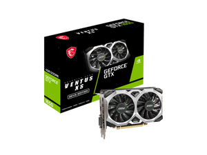 GEFORCE GTX 1650 D6 VENTUS XS OCV2  4GB GDDR6 Video Card