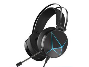 Game Gaming Headset PS4 Xbox One 7.1 Surround Sound PC Headset With Crystal Clear Mic Microphone Big Soft Earmuffs Compatiable With Xbox One Controller (Adapter Not Included) PS4 PS5 PC
