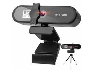 Webcam with Microphone for Desktop, 2K QHD USB Web Cam with Auto Light Correction, Desktop Computer Camera Streaming Camera for Video Conferencing, Teaching, Streaming, and Gaming
