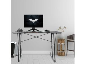 Easily Assembled Home Office Writing Desk Gaming Desk with Cup Holder