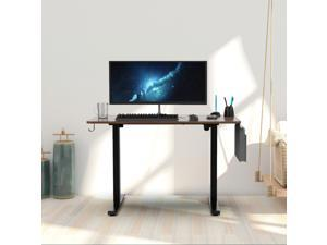 """48"""" Height Adjustable Electric Gaming Desk Home Office Table with Headset Hook and Storage Bag"""