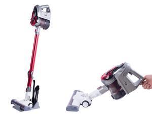 Cordless Vacuum, 4 in 1 Powerful Suction Stick Vacuum Cleaner 0.8L Capacity for Home Hard Floor Carpet Car Pet Lightweight