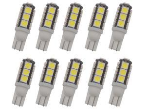 10Pcs T10 921 194 13-5050 SMD Wedge LED Bulb Super Bright RV Camper Cabinet Dome Wall Interior Light DC12V DC13V Cool White,1.8 W 12V, Durable,Replacement Light, Save Energy,Suit RV,Camper,Boat,Travel