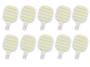 10Pcs T10 921 922 912 LED 38-2835 SMD DC12V DC13V RV Ceiling Dome Light RV Interior Lighting Trailer Camper Cool White Light Bulbs,3W 7000K-7500K,Plug and Play,Save Engergy Non-toxic,HQ Safe Durable